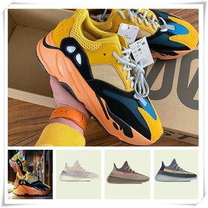 Mens Womens Sports Shoes 2021 Kanye West Ash-Pearl Shoes New Style Fashion Luce riflettente Casual Sneakers Sneakers Vestiti Dress Shoe Dimensione 36-48