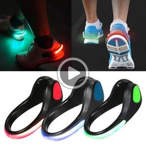 SIK3 LED lumineux lumière chaussures clip Light Up LED chaussures Clips lumières chaussures de vitesse LED clignotant nuit Courir réfléchissant de vitesse pour les coureurs