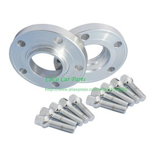 2pcs 25MM Hub Centric PCD 5x112-66.6 +10pcs 55MM Bolts Car Wheel Spacer For1