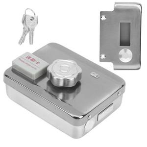 Sistema de Controle de Acesso Kits Portão Automático de bloqueio de aço inoxidável ID Card Access Control com bloqueio Controlador Rfid remoto