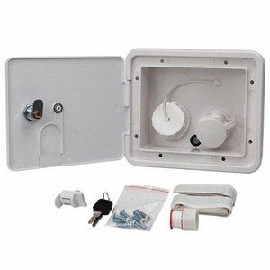Gravity Ville Caravan Leakproof Fill Universal Integrated place Easy Install Dish Hatch RV verrouillage entrée d'eau commandable m2fa #