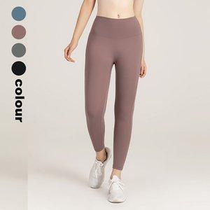 New 2020 Women Yoga Pants Seamless Leggings Naked Feeling Womens Sports Legging High Waist Running Elastic Pant For Female
