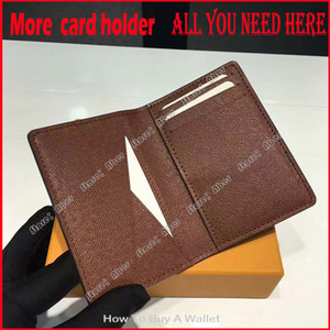 More card holder All you need here!!! Pocket Organiser NM luxurys designers wallets mens Real leather wallets credit card holder women purse