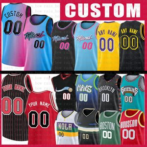 S-XXL Özel Herhangi Bir Adı Herhangi Bir Numara Film Alanı Reçel Tune Squad Jersey 2021 Yeni Mesh Retro Los Özel Angeles Erkek Basketbol Formaları