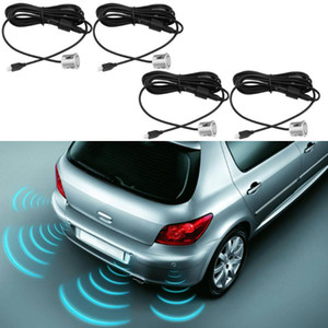 19mm Car Parking Sensor Kit 4pcs Sensors Buzzer Reverse Alert Backup Radar Sound Alert Indicator Probe System