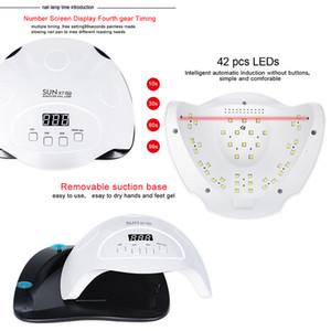 LNWPYH Séchoir à ongles 84/54 / 24W Lampe UV Lampe à ongles LED pour tous les gels Polish Turcing Lampe photothérapie Séchage rapide