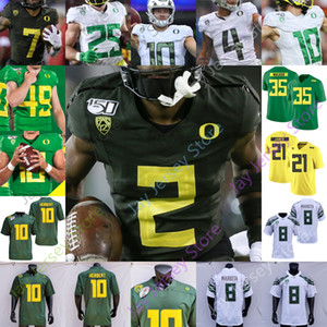 202 personnalisé Oregon Ducks Football Jersey américain universitaire Kyle long Haloti Ngata Jonathan Stewart Akili Smith Joey Harrington Mycah Pittman