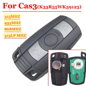 Alarm Systems Car Remote Key 3B 315 315LPMHz 433MHz 868MHz For 1 3 5 7 Series CAS3 X5 X6 Z4 Control Transmitter With Chip ID46 PCF7945