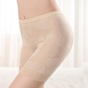 Designer Women Plus Size XL-4XL Lace Safety Short Pants Lingerie Boxer Women Comfortable Panties Ropa Interior Femenina