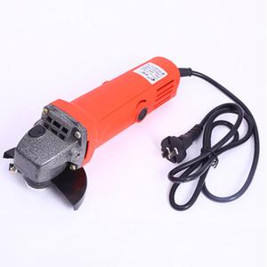 Многофункциональная электрическая ручная полировка и полировка металлоконструкций и шлифовальная машина красное напряжение 220 В скорость 11000р / мин