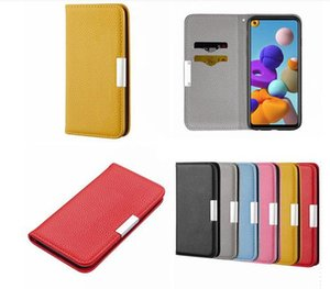 Magnetic Litchi Wallet Leather Case For Samsung A51 A71 A40 A50 A70 A20E A30 A60 A2 Core A10 J4 J6 PLUS S9 S10 Stand Card Slot Phone Cover