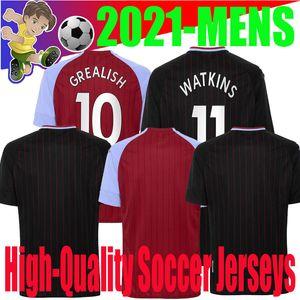 20 21 Aston Villa 9 WESLEY man Soccer Jersey GREALISH GUILBERT NAKAMBA EL GHAZI 7 McGINN 18 TARGETT 24 top quality Football Shirt