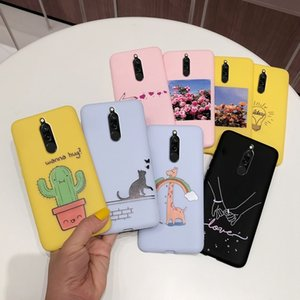 Xiaomi Back Silicone Candy Painting Soft TPU Funda Phone Case For Redmi 8 Xiomi Global Version Cover Capa