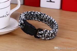 Bracelet Pretty 19 Colors Climbing For Women Outdoor Paracord Bracelets Men Hope Bangles Love Charm Bracele