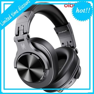 Oneodio Fusion A70 Bluetooth Стерео на ушной беспроводной гарнитуры Professional Studio Monitor DJ DJ