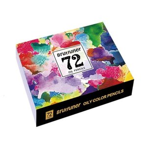 CHENYU 48 72 Colors Wood Oil Colored Pencils Set Artist Painting For Drawing Sketch School Gifts Art Supplie Dropshipping Y200428