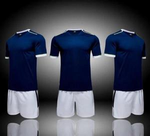 fashion Team blank Soccer Jerseys Sets,2020 new custom soccer uniform,Training Running Soccer Wears Short sleeve Running With Shorts 003