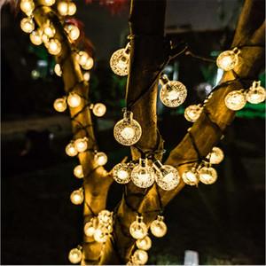 solar enLed strings Christmas lights Festival garden led lighting strings Decoration Light For Party Wedding led Holiday lighting DDE2306