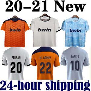2020 2021 فالنسيا لكرة القدم جيرسي جيديس غاميرو camisetas دي فوتبول رودريغو M. Florenzi M.Gómez 2020/21 فالنسيا قمصان الرجال لكرة القدم