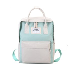HBP Non-Brand Canvas Backpack School's Small Impermeabile e Fresh Girl's College Style Schoolbag Sport.0018