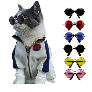 Soft Glasses random color For Little Cat Eye-wear Dog Sunglasses Photos Pet Products