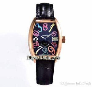 Rolex Girard-Perregaux Audemars Piguet HORAS alta qualidade LOUCOS 8880 CH Black Dial Leather automática Mens Watch Rosa de Ouro Correia de alta qualidade New Esporte baratos Relóg