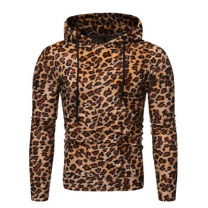 Men's Hipster 3D Leopard Print Hoodie Sweatshirt Autumn Winter Long Sleeve Hoodies Men Women Streetwear Hip Hop Hooded Tracksuit
