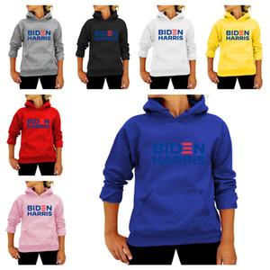 Designer Unisex Men Women Pullovers Hoodies Biden Harris Letters Print Tops Joe Biden President Election Sweater Hooded Sweatshirts E111303