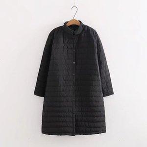 OLGITUM 2019 Frauen Winter Frühling leichte Baumwolljackenmantel und lange plus Fett plus Größe CC567