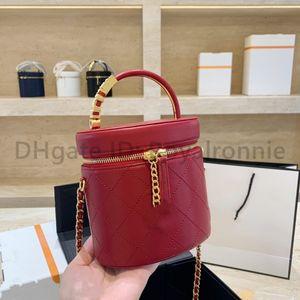 Top Quality 2021 New CC Designer di lusso Lady Lady Fashion Crossbody Bag Borsa perline perline Trucco Secchio di trucco Borsa Pearl Totes Canale Donne Borse a tracolla