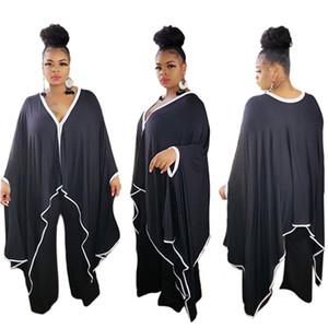 Женщины плюс размер повседневные платья сексуальный клуб осень зима одежда глубоко -V шеи праздник платья с длинным рукавом вечернее платье сплошной цвет 787