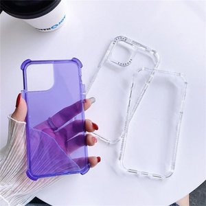 Transparent Shockproof Acrylic Hybrid Armor Hard Back Case Cover for iPhone 11 Pro Max Full Body 3 in 1 Protective Cases
