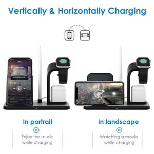 2020 Беспроводное зарядное устройство Новое Съемное 3 в 1 Станция Стенд Зарядное устройство для телефонов для Universal Samsung S10 Xiaomi, 10W Быстрая зарядка док-станции