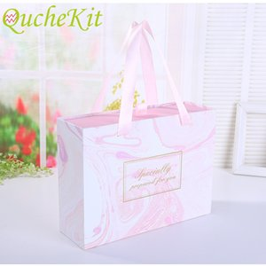 Rose marble portable box drawer gift box shoes clothing jacket cabinet cabinet cabinet baby shower paper chocolate wrapped box