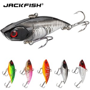 Jackfish 11G / 65 мм Трудные рыболовные приманки VIB Rattlin Hook Following Vibra Rattlin Hookion Hookion Crank Crank Itificial Wobbles Baits Q0104