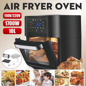 1700 W 10L İşlevli Akıllı Tavuk Yağı Ücretsiz Hava Fırın Sağlıklı Gıda Ocak Touch LCD Elektrikli Derin Fritöz W1219