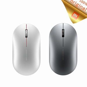 Mi Wireless Mouse Bluetooth Mouse Mi fashion Game Mouses 1000dpi 2.4GHz WiFi link Optical Mini Metal Portable1