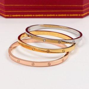 Wholesale Valentine'S Day Gift 18k Titanium Steel Men Women Bracelets Fashion Style Retro Tennis For Couple Celtic Style Unisex