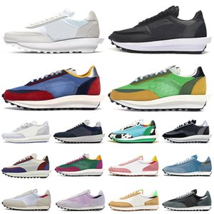 nike sacai LDV Waffle Daybreak Повседневная обувь Nylon Pigeon Pine Green des chaussures женские мужские кроссовки для спорта на открытом воздухе