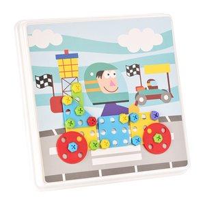 Nuovi 240 + Pezzi Costruire Creative Design Mosaico Sketchpad Giocattolo Gioco puzzle bambini regalo 2020 Hot Sell