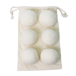 6cm Wool Dry Ball Household Wash And Nurse Clothes Felt Dryer Balls Small Practical Fabric Softener Laundry Products SN2187