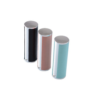 12.1mm empty plastic round shaped Lipstick case lambskin type Lip Balm Tube Empty Plastic Lip FWB2561