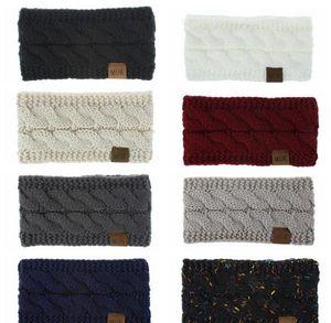 Knitted Headband Winter Women Lady Warmer Crochet Turban Head Wrap Plush Earflaps Elastic Headwrap Hairbands jllIEP ffshop2001