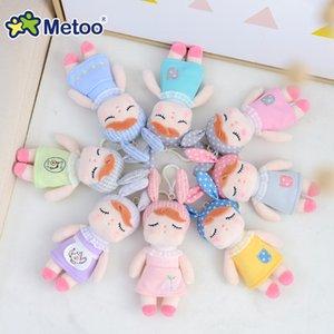Mini Metoo bonecas de pelúcia brinquedos para bebés bonitos unicórnios bonito Coelho pequeno chaveiro pendant macia Animais para meninos infantil