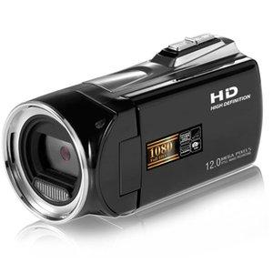 Видеокамера ЖК-экран 2,7 дюйма Рекордер Главная Zoom 8x Портативная цифровая видеокамера 270 градусов Rotation Handheld Full HD 1080P