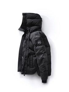 2020-2021 HOT NEW 캐나다 남성 브랜드 유럽 크기 90 % 거위 단색 파커 코트 다운 재킷 남성 야외 스포츠 냉간 다운 재킷을 따뜻하게