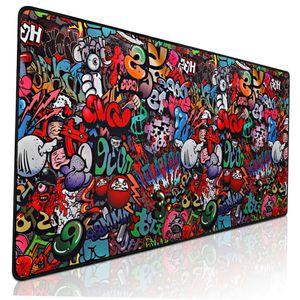 Gaming Mouse Pad Large Mouse Pad Gamer COMPUTADORIENTE Mousepad 900x400 Mapa de ratón grande Mapa del mundo XXL MAUSE PAD CAD PORTÁTIS Teclado de teclado Estera