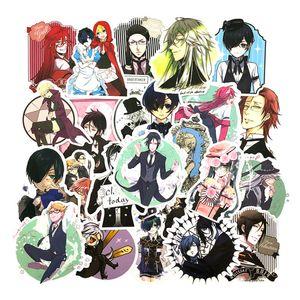 Anime 50 STPs / Pak Black Butler Cartoon Voor Kids Laptop Fiets Motorfiets Skateboard Koelkast Auto Kuroshitsuji Aufkleber B9V2