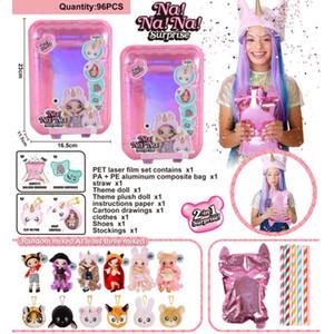 1Pcs NA NA NA! surpresa Fashion Doll nanana LOLs bonecas brinquedos aniversários especiais presente para as meninas Crianças T200712