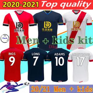 20 21 Ðs Soccer Jerseys 2020 2021 Maillots de piede lunghe Adams Ward-prowse Hojbjerg Armstrong Redmond Camicia da calcio Uomo + Kid Kit Uniform